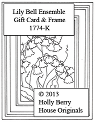 Lily Bell Ensemble Gift Card & Frame