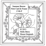 Summer Breeze Note Card & Frame