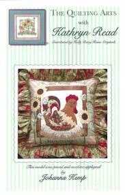 The French Rooster Pillow
