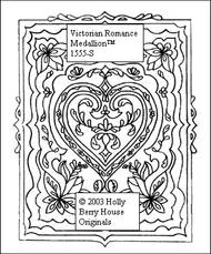 Victorian Romance Medallion