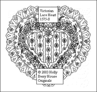 Victorian Lace Heart