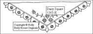 Tea Towel - Daisy Square