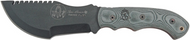 "TOPS Tom Brown Tracker TBT-010 Fixed Blade Knife, Black 4.25"" Plain Edge Blade, Sheath"