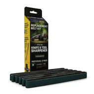 Work Sharp Replacement Belt Set WSSA0002703, P80 Grit, 6 Pack