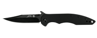 "Kershaw Emerson CQC-1K 6094BLK Folding Knife, Black 3"" Plain Edge Blade, Black G-10 and Stainless Steel Handle"