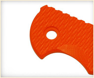 "Rick Hinderer Knives Folding Knife Handle Scale for XM-18 - 3.5"", Orange"