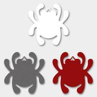 Spyderco Decal Bug Sticker - White