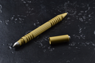Rick Hinderer Knives Aluminum Investigator Ink Pen, Type 2 Hardcoat Anodized Gold