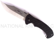 "Emerson Knives CQC-13 SF Folding Knife, Satin 3.9"" Plain Edge 154CM Blade, Black G-10 Handle, Emerson ""Wave"" Opener"