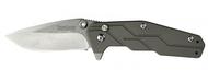 "Kershaw Dimension 3810 Assisted Opening Knife, 3"" Plain Edge Blade, Titanium Handle"