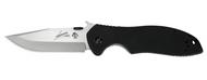 "Kershaw Emerson CQC-6K 6034 Folding Knife, 3.25"" Plain Edge Blade, Black G-10 Handle"