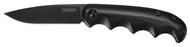 "Kershaw AM-5 2340 Assisted Opening Knife, Black 3.25"" Plain Edge Blade, Black G-10 Handle"