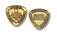 Spyderco SpyderCoin 2018 Challenge Coin - Antique Bronze Finish