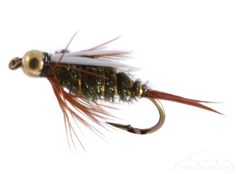 Prince Nymph, Tungsten Bead