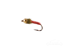 Brassie, Bead Head, Red