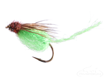 Sparkle Pupa Emerger, Green