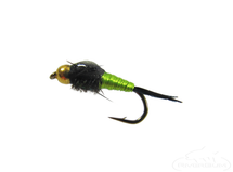 Copper John, Wired BH, Chartreuse