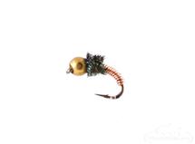 Brassie, Bead Head, Peacock