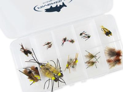 Stonefly Dry Flies Assortment - 20 Piece