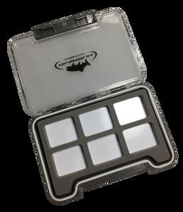 RiverBum Medium Waterproof Thin Box w/ 6 Compartments