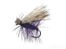 Elk Hair Caddis Purple Fly