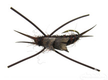 Stonefly Nymph, Rubber Legs, Brown