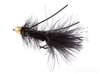 Wooly Bugger, Cone Head, Rubber Legs, Black