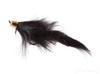 Bunny Leech, Black, Cone Head, Salmon Hook