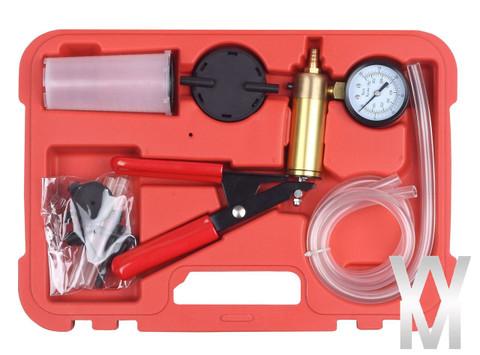 hand held brake clutch bleeder tester set bleed kit vacuum pump car motorbike wonderman tools. Black Bedroom Furniture Sets. Home Design Ideas
