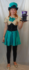 Mad Hatter Girls Costume to Hire