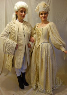 Marie Antoinette and Louis XVI for Hire