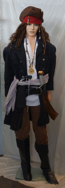 Jack Sparrow Costume For Hire