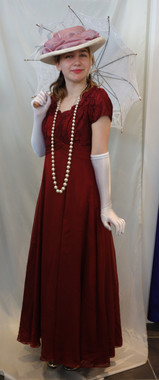 Ladies Edwardian Costume for Hire