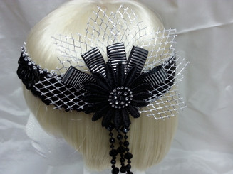 1920's flapper headband from The Littlest Costume Shop, Melbourne