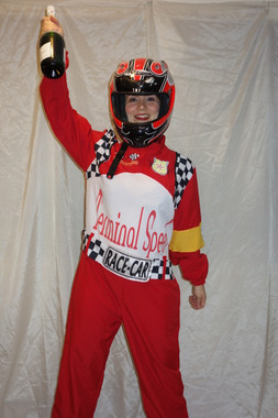 Racing Car Driver Costume for Hire from The Littlest Costume Shop, Preston