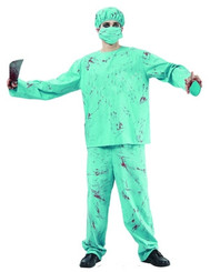 Blood Splattered Surgeon - Halloween Costume