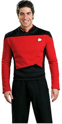 For Hire - Star Trek 'Command Uniform' Red and Black Shirt