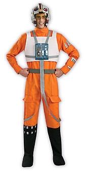 Luke Skywalker Rebel X-Wing Fighter Pilot Costume For Hire - Star Wars