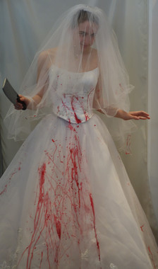 Bloody Bride Costume for Hire