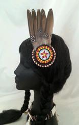 Native American Inspired fascinator