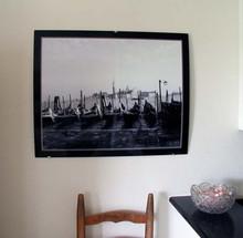 Gondolas in Venice Fine Art Quality Photo Print on Aluminum