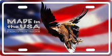 Flying Eagle Aluminum Auto License Tag