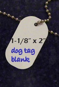 Dog/ID Tag Blanks- Lot of 50