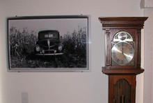 1941 Ford Truck - The Corn Husker- 2' x3' Photo Realistic High Gloss Aluminum Picture Panel