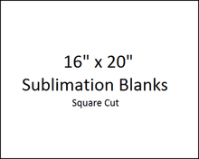 """16"""" x 20"""" UV PLUS! Aluminum Dye Sublimation Sheet Blanks for Wide Format Printing - Lots of 10 PCs"""