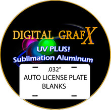 .032 UV PLUS! Dye Sublimation Aluminum Auto License Plate Blanks- Special Offer! FREE DELIVERY! Lot of 200