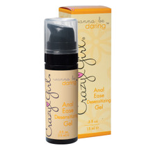 CRAZY GIRL ANAL EASE GEL .5 OZ BOXED