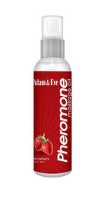 ADAM & EVE MASSAGE OIL STRAWBERRY 4OZ