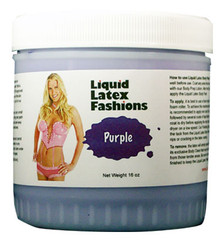 LIQUID LATEX SOLID PURPLE 16OZ