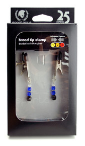 ADJ CLAMP W/ BLUE BEADS